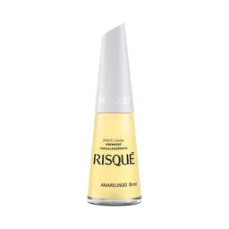 Esmalte Risqué Cremoso Novos Coloridos Amarelinho 8 mL