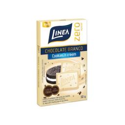 Chocolate Linea Zero Açucar Cookies Cream 30 g