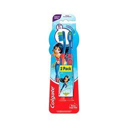 Escova Dental Colgate Batman & Mulher Mararavilha Com 2 Und