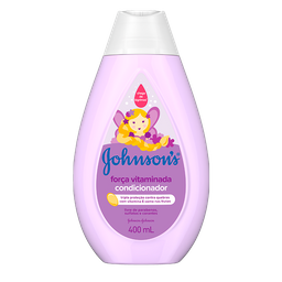 Condicionador Johnsons Baby Força Vitaminada 400 mL