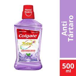 Enxaguante Colgate Anti Tartar 500ml