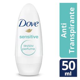 Dove Desodorante Sensitive Skin Sem Perfume Roll-on 48h