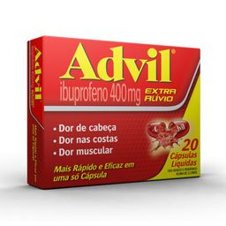 Advil 20 Cápsulas 400 mg