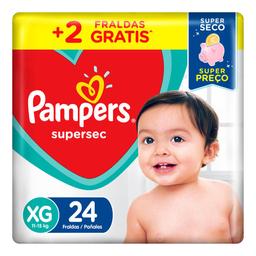 Pampers Fralda Supersec Pacotao Xg