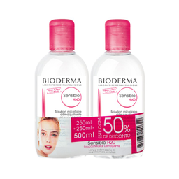 Bioderma Kit Solução Micelar Sensibio H2o