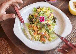 Salada de Abacate com Abóbora