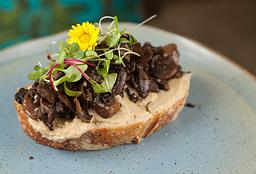 Toast de Cogumelos Salteados
