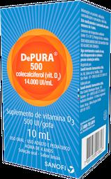Depura 500 UI/Gotas 10 ML