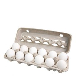 Ovos Brancos Granja Shiro Com 12 Und