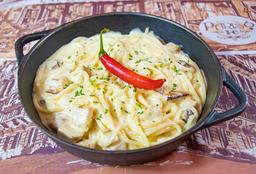 "Spaghetti Carbonara Au Poulet À ""Alexandre Pato"""