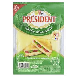 Queijo Mussarela President Fatiado