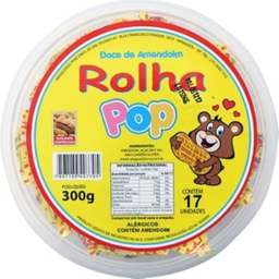 Pop Paçoca Rolha