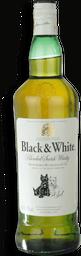 Whisky Black E White 1 L
