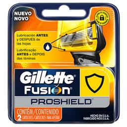 Carga Gillette Fusion Proshield com 2 Und