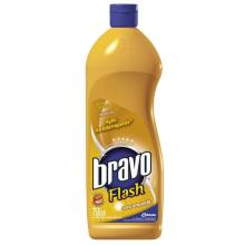 Cera Bravo Flash Amarelo 750 mL