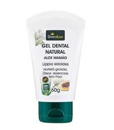 Creme Dental Livealoe Aloe Mamão 60 g