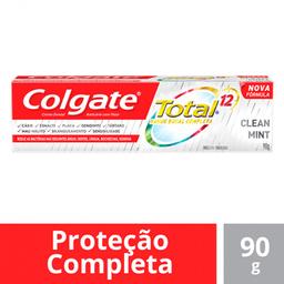 Creme Dental Colgate Total 12 Clean Mint 90 g