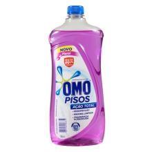 Desinfetante Omo Pisos Floral Ação Total 900 mL