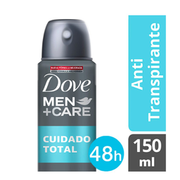 Desodorante Dove Men + Care Cuidado Total Aerosol 48h 150 mL