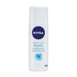 Desodorante Nivea Fresh Natural Spray 24h com 90 mL