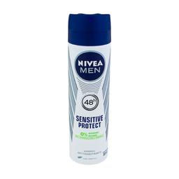 Desodorante Nivea Men Sensitive Protect Aerosol 48h Com 150 mL