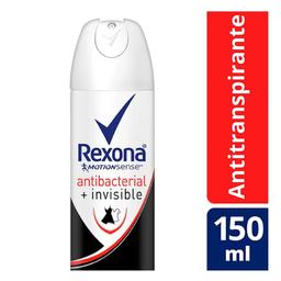 Desodorante Rexona Antibacterial + Invisible Aerosol 150 mL