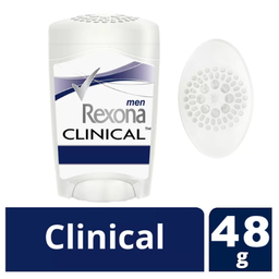 Desodorante Rexona Men Clinical Clean Stick C/ 48 g