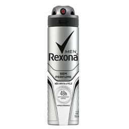 Desodorante Rexona Men Sem Perfume Aerosol 48h 150 mL