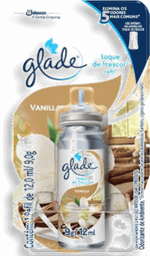 Desodorizador Glade Toque De Frescor Refil Vanilla 12 mL