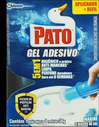 Desodorizador Pato Gel Adesivo Ap 38 g Marine