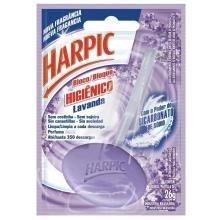Desodorizador Sanitário Bloco Descartável Harpic Lavanda 26 g