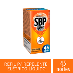 Inseticida Elétrico 45 Noites Multi Refil Sbp 35 mL