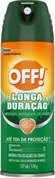 Repelente Off Aerosol Longa Durao Toque Seco 137 mL