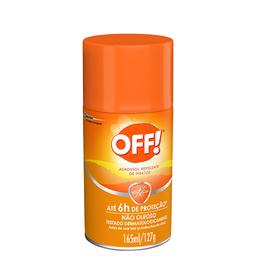 Repelente Off! Family Aerossol com 165 mL