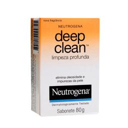 Sabonete Deep Clean Neutrogena Limpeza Profunda com 80 g