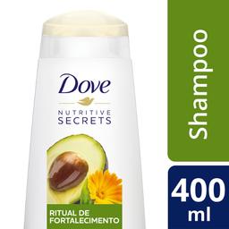 Shampoo Dove Ritual de Fortalecimento 400 mL