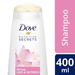 Shampoo Dove Ritual Liso e Nutrido 400 mL