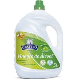 Vinagre Álcool Castelo Limpeza 6% 5 L