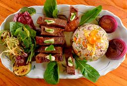 Teppanyaki Picanha com Risoto