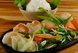 Teppanyaki Filé de Frango