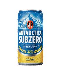 Cerveja Antarctica Subzero Lata 269 mL