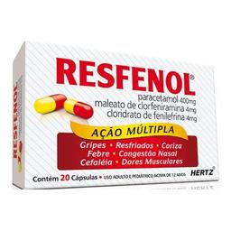 Resfenol Com 20 Capsulas