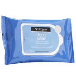 Lenço Demaquilante Neutrogena® Deep Clean® 7 Unidades