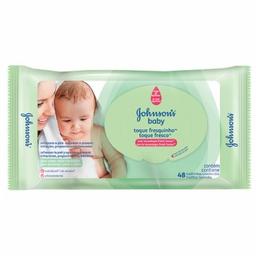 Lenços Umedecidos Johnson's Baby Toque Fresquinho 48 Und