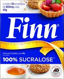 Adoçante Sucralose Finn 50U