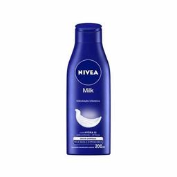 Hidratante Corporal Nivea Milk Pele Seca e Extrasseca 200 mL