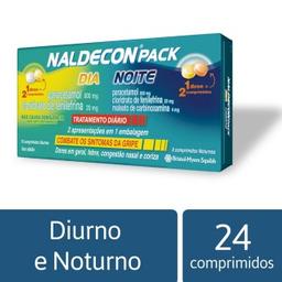 Naldecon Pack Cartucho Noite E Dia 24 Comprimidos