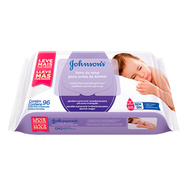 Lenços Umedecidos Johnson's Baby Hora do Sono 96 Und