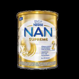 Fórmula infantil NAN supreme 2 800g