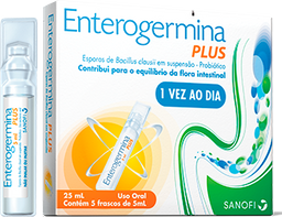Enterogermina Plus 4 BCFU/5ML X 5 FCO
